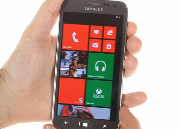 Samsung ATIV S Windows Phone shows off acres and acres of live tiles in video