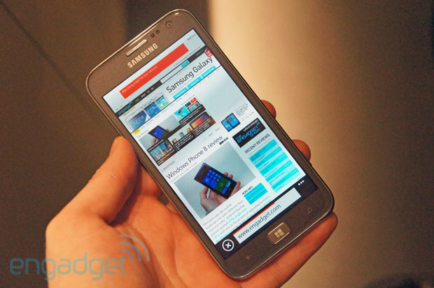 Samsung ATIV S Handson with Samsung's first Windows Phone 8 device