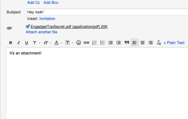 Gmail now searches attachment text, homework hoarders rejoice!