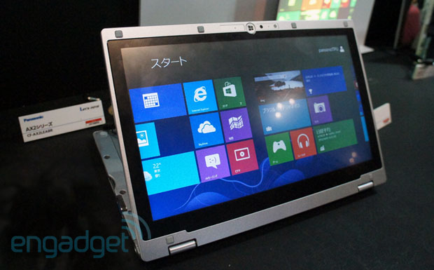 Panasonic shows off its foldable Windows 8 Ultrabook hybrid, launches on October 26