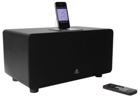 Behringer iNuke Boom Junior shrinks giant iPhone dock, won't trigger as many earthquake warnings