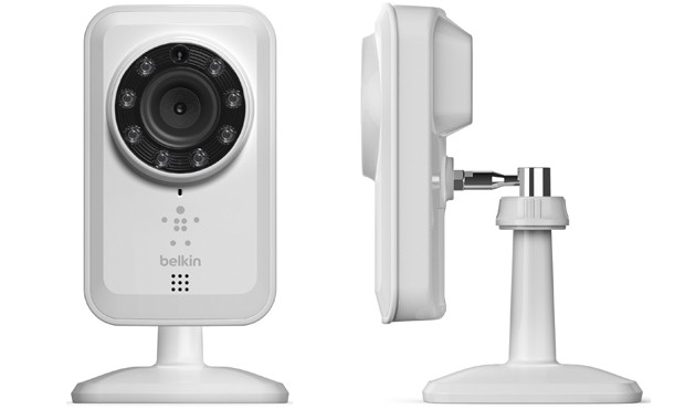 Belkin's NetCam WiFi camera keeps an eye out for ghosts while you're out, hooks up with iOS Android