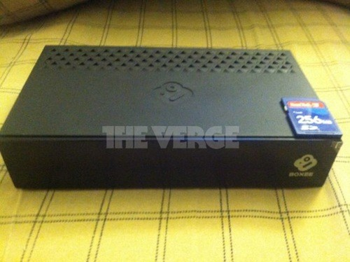 Boxee TV streaming  OTA settop box and DVR pics leak out