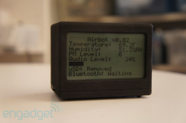 AirBot and WaterBot help localize pollution data collection video