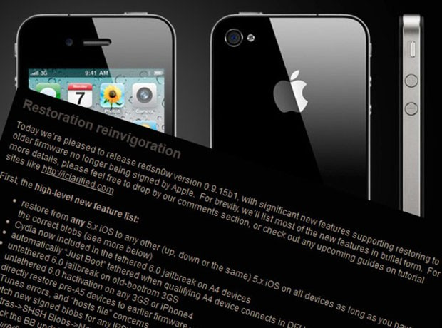 Cydia now ready to break iOS 6 out of jail on your tethered iPhone 4 or earlier device