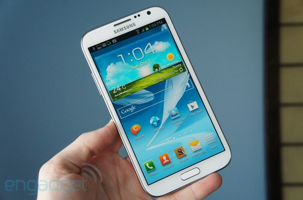 Samsung Galaxy Note II Review Image