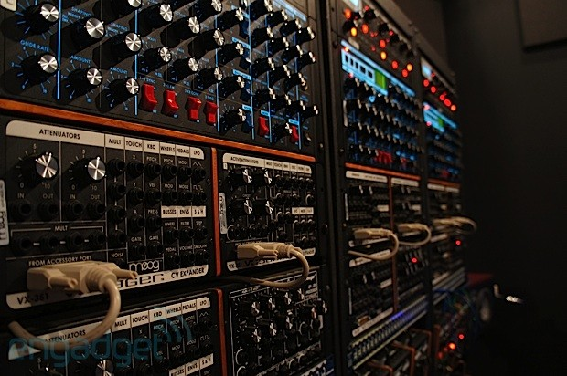 Visualized Inside Moog's Sound Lab