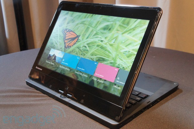Lenovo announces ThinkPad Edge Twist, a business-oriented convertible coming this month for $849