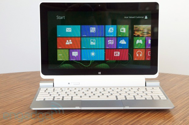 Acer Iconia W510 preview