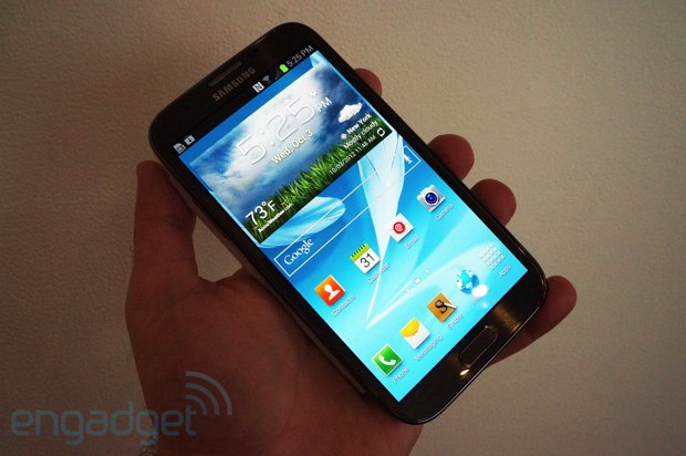 Samsung Galaxy Note II to hit AT&T November 9th for $  299, preorders begin Thursday