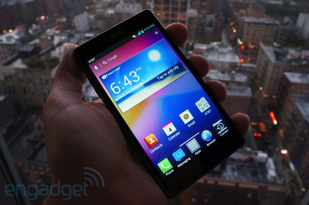 LG Optimus G for AT&T handson
