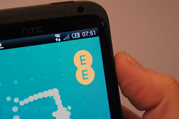 EE announces UK 4G pricing