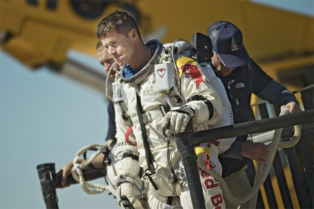 Felix Baumgartner and Red Bull Stratos preparing for next record breaking space jump attempt, watch right here video