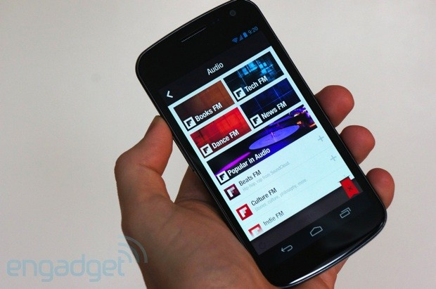 Flipboard for Android gains audio, lets us tune into SoundCloud from our Samsung
