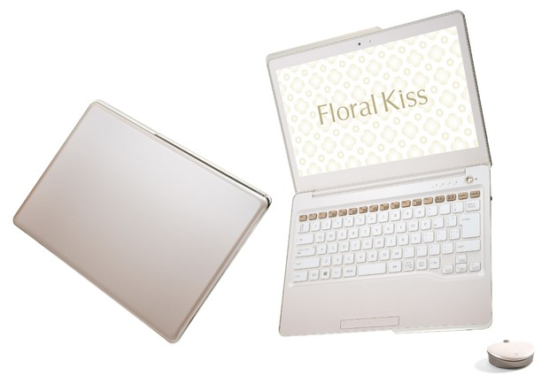 What women want Fujitsu's Floral Kiss Ultrabook with preinstalled horoscope app