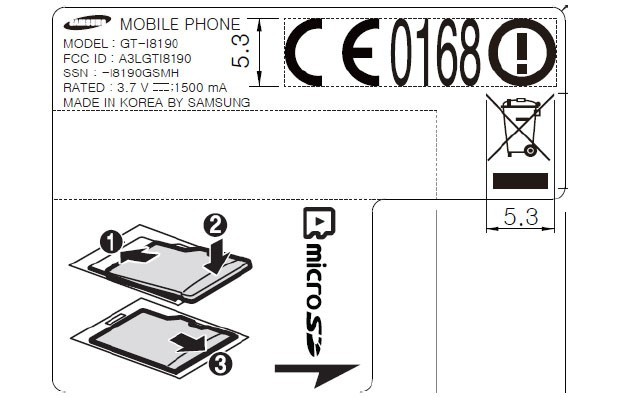 Galaxy S III mini has radios probed by FCC