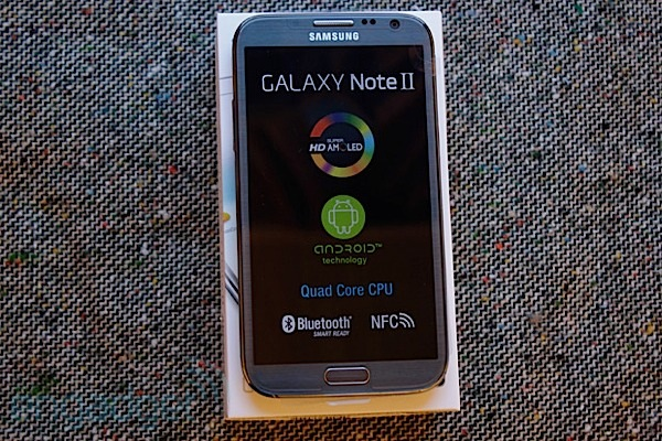 Engadget UK Giveaway: win a Samsung Galaxy Note II courtesy of MobiCity
