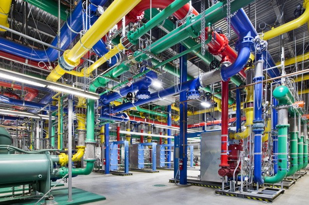 Google takes us inside their data centers, shows you where the internet lives