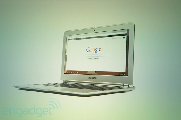 DNP  Google launches Samsung Series 3 Chromebook ARMbased, fanless, 65hour battery, 1080p video, $249