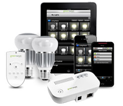 GreenWave Reality ships WiFi light bulbs that flick on through motion and smartphones, join the 21st century