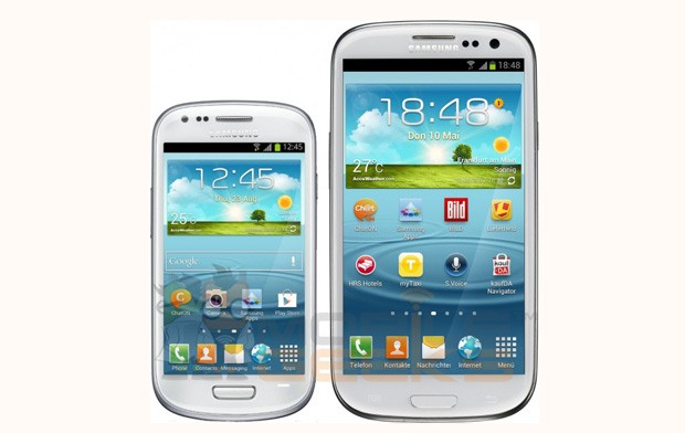 Samsung Galaxy S III Mini photo, specs and expected price leak in Germany
