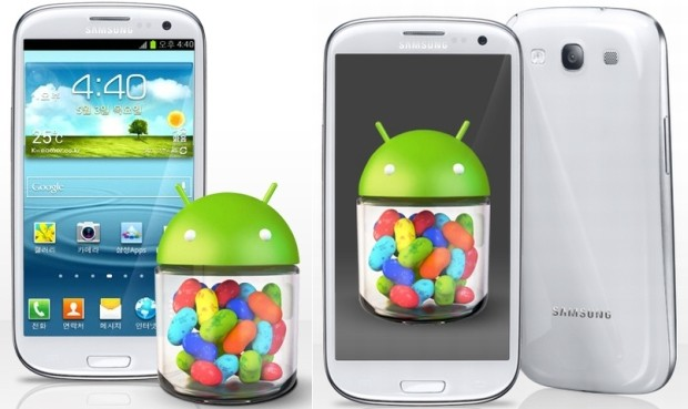 Samsung Galaxy S III with Jelly Bean in South Korea