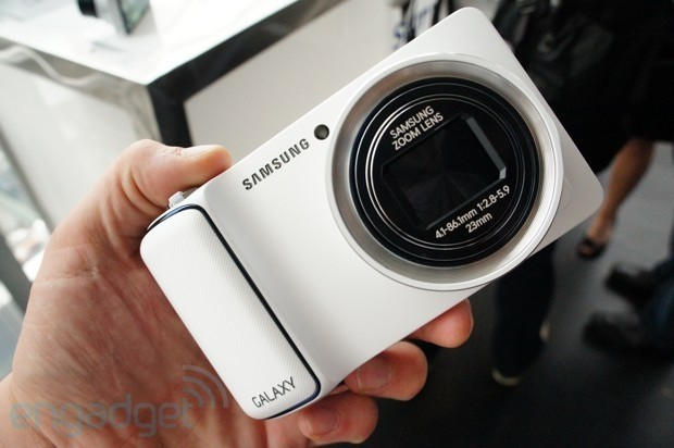 Samsung Galaxy Camera marries Android and photography, we go handson