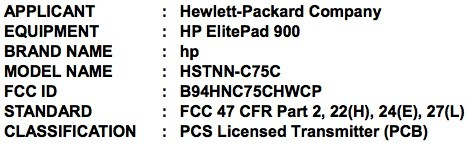 HP ElitePad 900 travels to the FCC, brings the pros closer to Windows 8 tablets