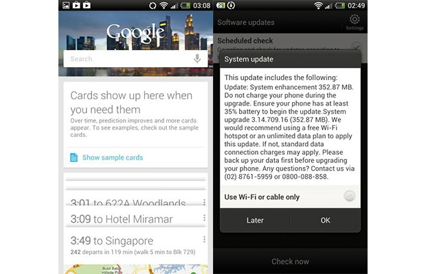 HTC One X sees Jelly Bean rollout in Taiwan and Singapore, One S update reportedly coming soon
