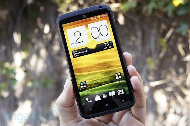 HTC One X for AT&T handson Tegra 3, LTE and Jelly Bean together at last video
