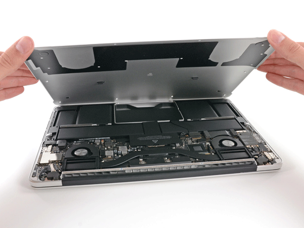 iFixit tears down 13inch MacBook Pro, rates it two grumpy kittens for repairability