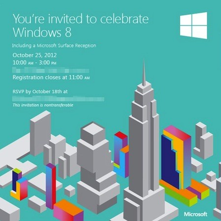 Windows 8 launch event gets real, 
