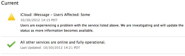 Apple iMessage sees second outage in a week, iTunes UK follows suit