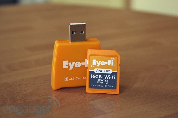 EyeFi Pro X2 16GB Class 10 handson