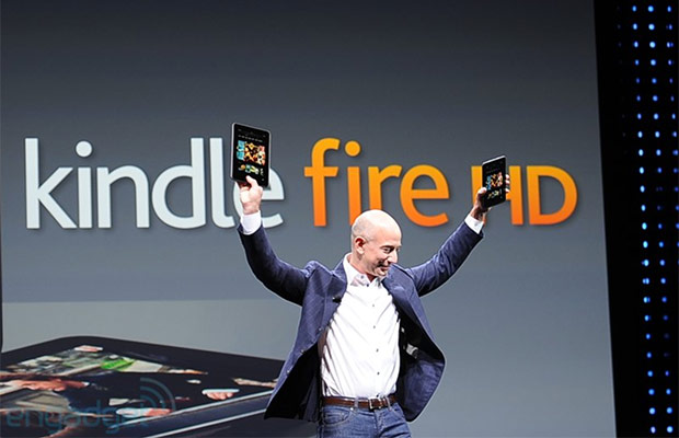 kindle fire hd jeff bezos Amazon breaks even on Kindle devices, not trying to make money on hardware