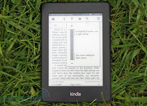 Kindle Paperwhite coming to the UK on October 25th, starting at 109