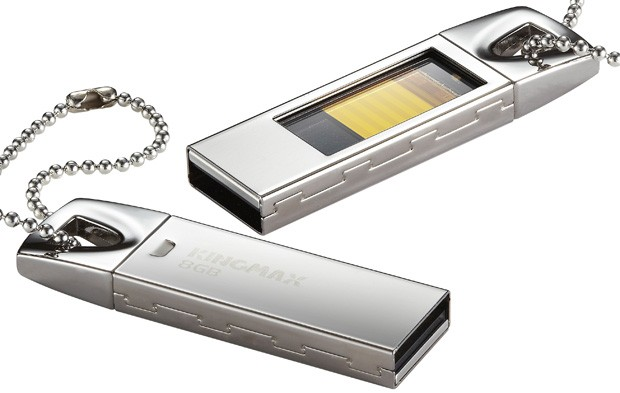 Kingmax intros UI05 USB flash drive with glass ceiling, lets you see memory storage 'in action'
