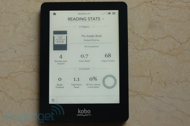 Kobo Glo another illuminated ereader lights up the market