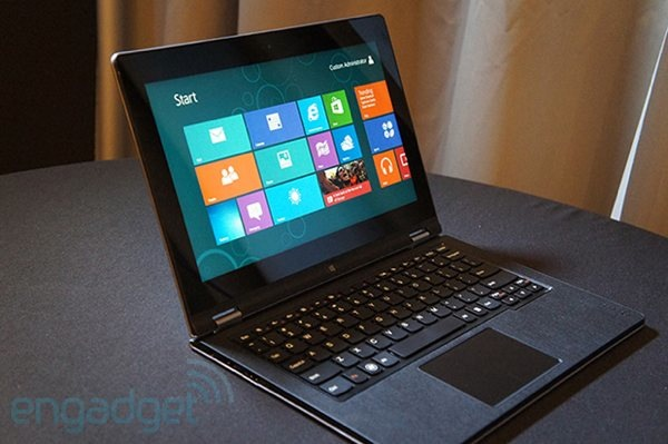 Lenovo ideapad yoga 13 shipping this month for $ 1099 arm powered yoga