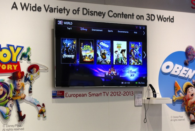 LG's Smart TV platform starts renting out Disney 3D movies, offers new buyers  worth