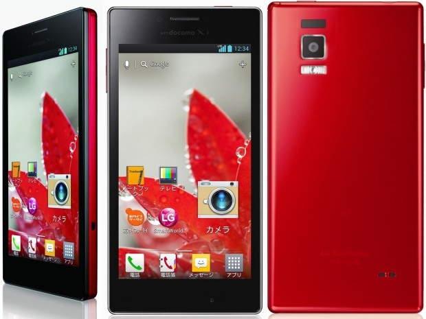 NTT DoCoMo opens Japanese preorders for the LG Optimus G L01E tomorrow, sales start October 19th