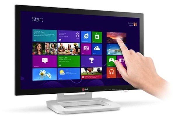 LG announces 23inch Touch 10 monitor with Windows 8 optimization