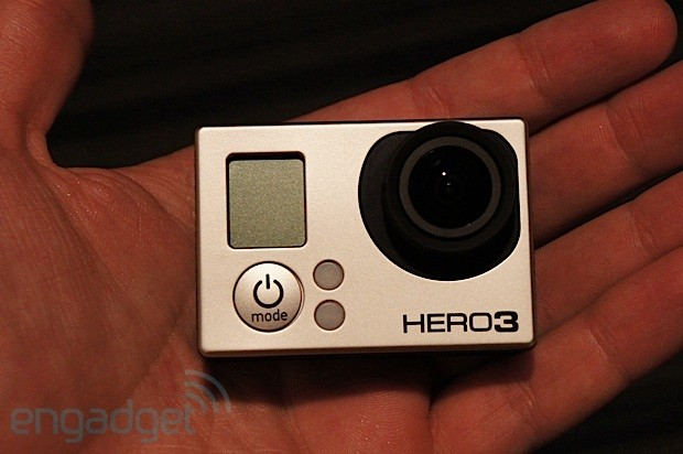 GoPro Hero3 action camera handson