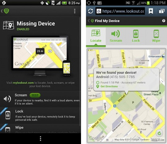 Lookout Security &amp; Antivirus for Android gets big makeover, lets lost phones have one last gasp