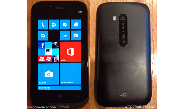 Verizon-bound Nokia Lumia 822 surfaces in leaked photos
