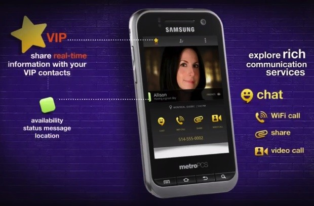 MetroPCS, Joyn launch the first Rich Communication Services on LTE, aim for universal contacts and chat video