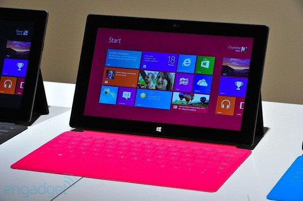 Microsoft reportedly building up to 5 million Surface tablets for the fall