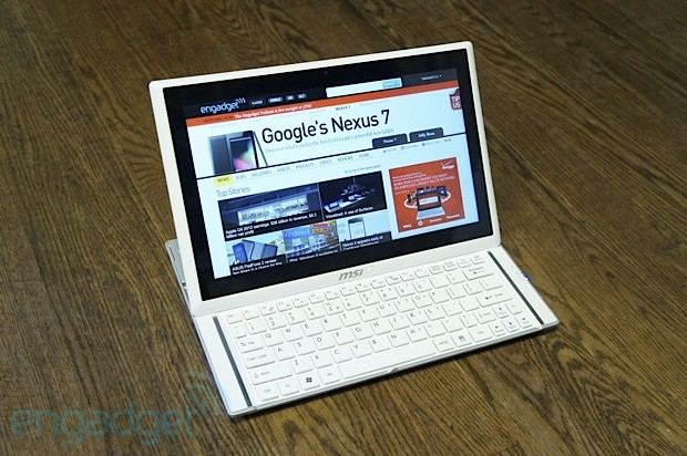 Handson with MSI's S20 Slidebook Windows 8 convertible Ultrabook