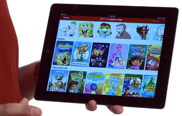 Netflix Just for Kids comes to iPad, keeps Dora exploring beyond the TV video