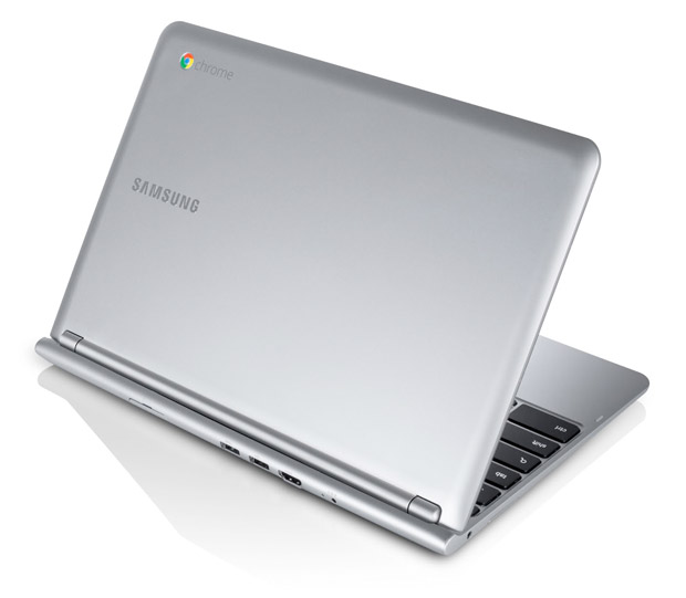 Google launches 116inch ARMbased Samsung Chromebook $249, ultra thin and light, 65hour battery, 1080p video